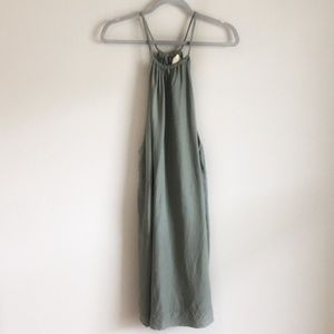 Anthropologie Maeve Olive Boho Dress Size XS